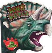 Depesche 5143 Dino World Malbuch figürlich mit Stickern