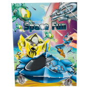 Depesche 6517 Create your Space Fun, Malbuch  mit Stickern
