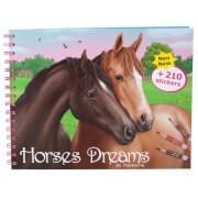 Depesche 8066 Horses Dreams Malbuch