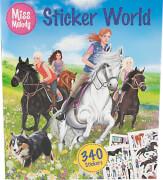 Depesche 6565 Miss Melody Stickerworld - Mal - und Stickerbuch