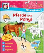 Tessloff WAS IST WAS Junior Mitmach-Heft Pferde und Ponys