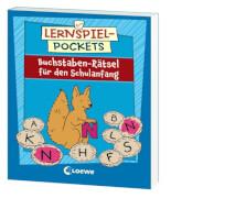 Loewe Lernspiel-Pockets - Buchstaben-Rätsel Schulanfang