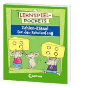 Loewe Lernspiel-Pockets - Zahlen-Rätsel Schulanfang