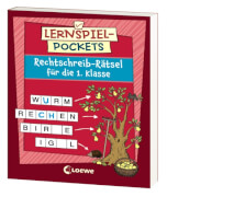 Loewe Lernspiel-Pockets - Rechtschreib-Rätsel 1. Klasse