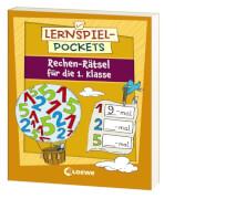 Loewe Lernspiel-Pockets - Rechen-Rätsel 1. Klasse