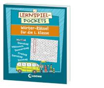 Loewe Lernspiel-Pockets - Wörter-Rätsel 1. Klasse