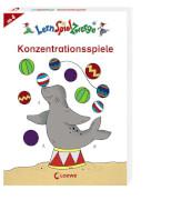 Loewe Lernspielzwerge Mal- und Rätselblock - Konzentrationsspiele