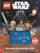 LEGO® Star Wars - Rätselspaß für galaktische Helden - Rätselbuch mit Minifigur