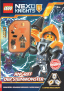 LEGO® Nexo Knights - Angriff der Steinmonster - Rätselbuch mit Minifigur
