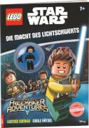 LEGO® Star Wars - Die Macht des Lichtschwerts, Rätselbuch mit Minifigur, 32 Seiten, ab 6 Jahren