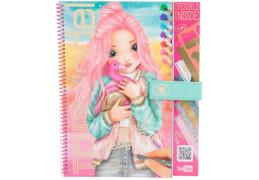 Depesche 3043 TOPModel Special Design Book &  Videos - Malbuch Flamingo