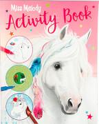 Depesche 4464 Miss Melody Activity Book, malen, kritzeln, Spaß haben