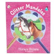 Depesche 5476 Horses Dreams Glitter Mandalas  Creativeset Box