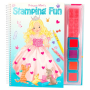 Depesche 8983 My Style Princess Stamping Fun , Malbuch