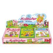 Mini-Malbücher mit Stickern i