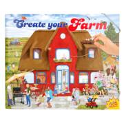 Depesche 5416 Create your Farm - Malbuch mit  Stickern