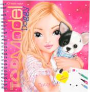 Depesche 5418 Create your TOPModel Doggy Malbuch