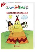 Loewe Lernspiel ZwergeMal- und Rätselblock - Buchstabenspiele