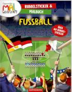 Coppenrath Verlag 62537 Buch ''Rubbelsticker & Malbuch: Fußball'', broschiert, 12 Seiten, ab 5 Jahren