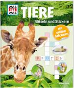 Tessloff WAS IST WAS Rätseln und Stickern: Tiere