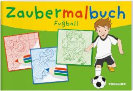 Zaubermalbuch Fußball, Taschenbuch, 32 Seiten, ab 3 Jahren