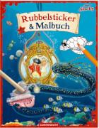 Käpt'n Sharky: Rubbelsticker & Malbuch, 12 Seiten, ab 5 - 7 Jahre