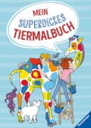 Ravensburger 55523 Mein superdickes Tiermalbuch - F18