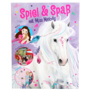Depesche 10128 Miss Melody Activity Book, malen, kritzeln