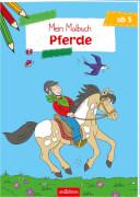 Malbuch ab 5 - Pferde