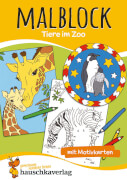 Malblock - Tiere im Zoo. Ab 3 Jahre.