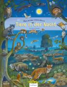 Mein erstes Wimmelbuch - Tiere in der Nacht, Pappbilderbuch, 16 Seiten, ab 3 Jahren