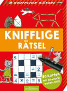 Ars Edition - Knifflige Rätsel, ab 8 Jahren, 100 Seiten