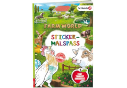 SCHLEICH® Farm World  Sticker-Malspaß