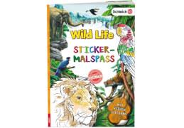 SCHLEICH® Wild Life  Sticker-Malspaß