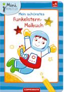 Mein schönstes Funkelstern-Malbuch Astronaut, Mini-Künstler, Broschur, 24 Seiten, ab 4 Jahren