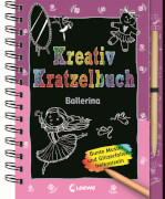 Loewe Kreativ-Kratzelbuch: Ballerina