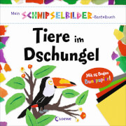 Loewe Mein Schnipselbilder-Bastelbuch - Tiere im Dschungel