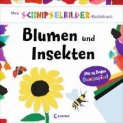 Loewe Mein Schnipselbilder-Bastelbuch - Blumen und Insekten