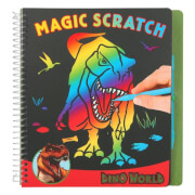 Depesche 10363 Dino World Magic Scratch Book