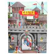 Depesche 10366 Create your Castle, Malbuch mit Stickern
