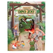 Depesche 10370 Create your DINO ZOO, Malbuch mit Stickern
