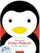 Mein erstes Sticker-Malbuch: Pinguin  Mini-Künstler