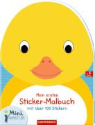 Mein erstes Sticker-Malbuch: Ente  Mini-Künstler