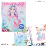 Depesche 10445 Fantasy Model Dress me up Stickerbuch