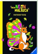 Ravensburger 015405 Mein Neon-Malbuch: Fantasietiere
