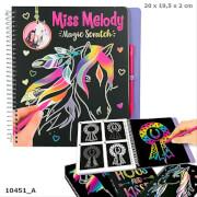 Depesche 10451 Miss Melody Magic Scratch Book