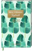 Jahreskalender: Mein 3 Min. Tagebuch 2020 (Palmenblätter)