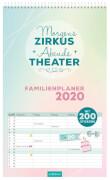 Morgens Zirkus, Abends Theater Familienplaner 2020