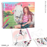 Depesche 10441 Miss Melody Dress up your Horse Malbuch