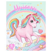 Depesche 10534 Ylvi Create your Unicorn Malbuch